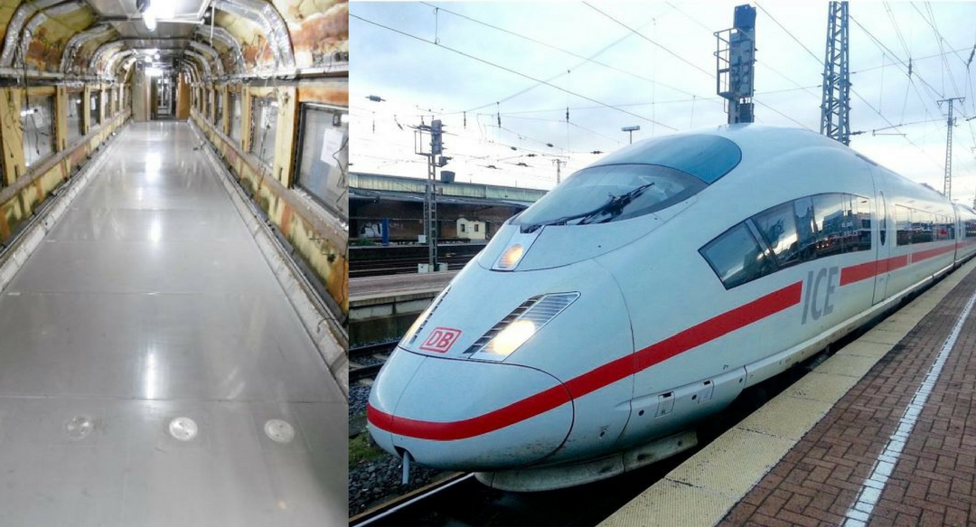 ENOUGH TO COVER THREE SOCCER FIELDS – LIGHTWEIGHT COMPOSITE FLOORING SPEEDS DEUTSCHE BAHN AG ICE TRAIN FLEET INTO 2030
