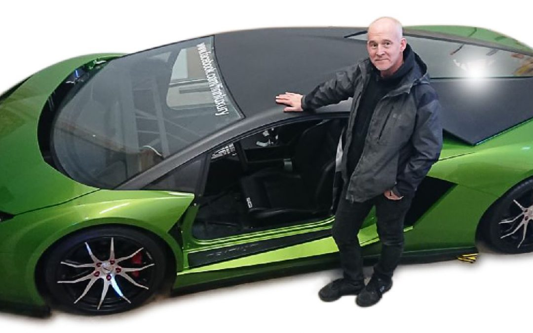SUPERCAR USES SUPER MOULDING PROCESS